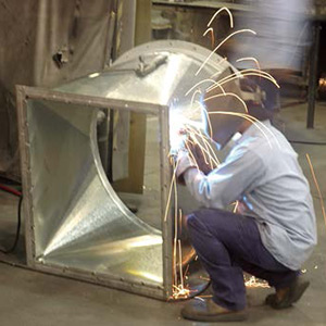 Nordfab duct welding